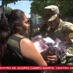 Llega ayuda humanitaria a Oaxaca y Chiapas tras sismoLlega ayuda humanitaria a Oaxaca y Chiapas tras sismo