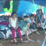 Zapotecas sobreviven entre lluvias y derrumbes