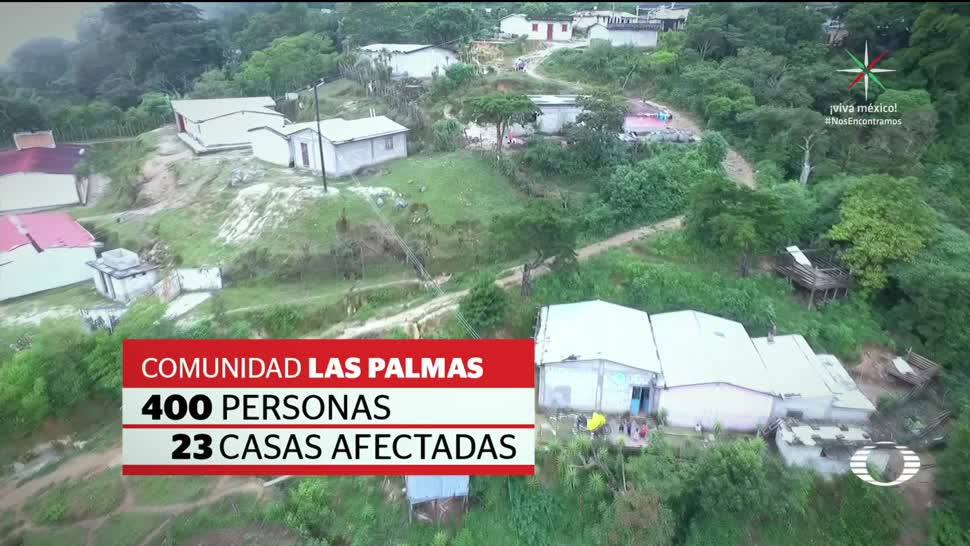 Comunidades chiapanecas incomunicadas tras el sismo