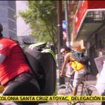 Acopian víveres en bici por la CDMX en el borrego Viudo