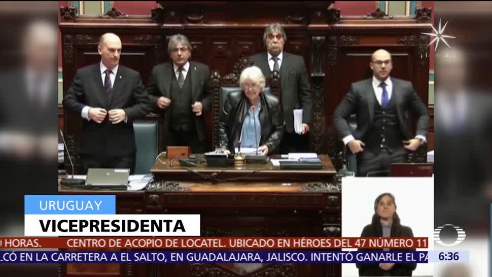Lucía Topolansky, esposa de José Mújica, es la nueva vicepresidenta de Uruguay