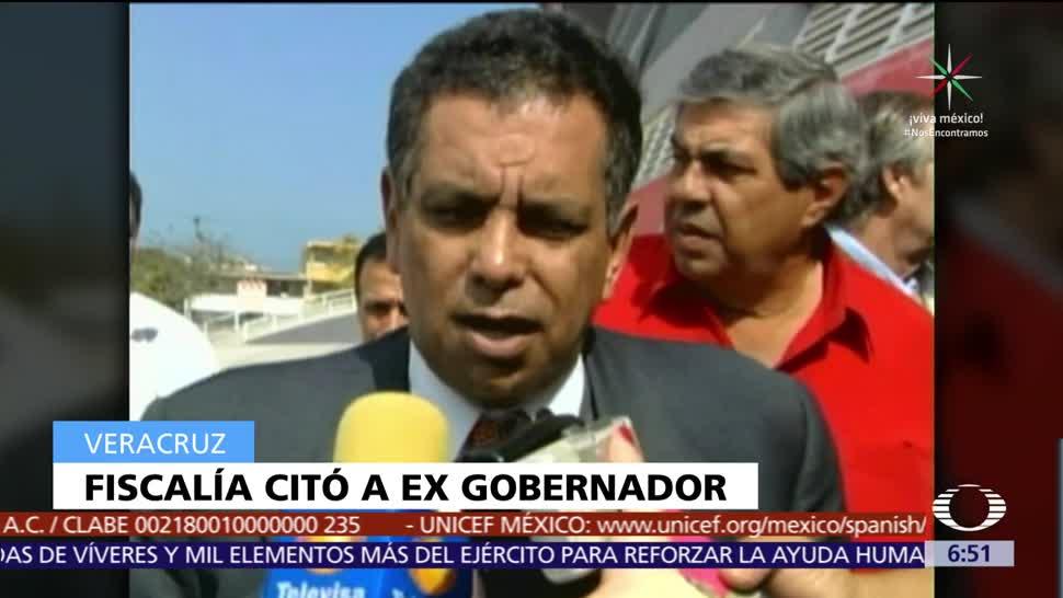 Fiscalía de Veracruz cita al exgobernador Fidel Herrera