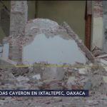 Se reparte ayuda a damnificados en Ixtaltepec Oaxaca