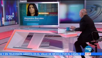 Alejandra Barrales: En este momento, el Frente Ciudadano no tiene fines electorales