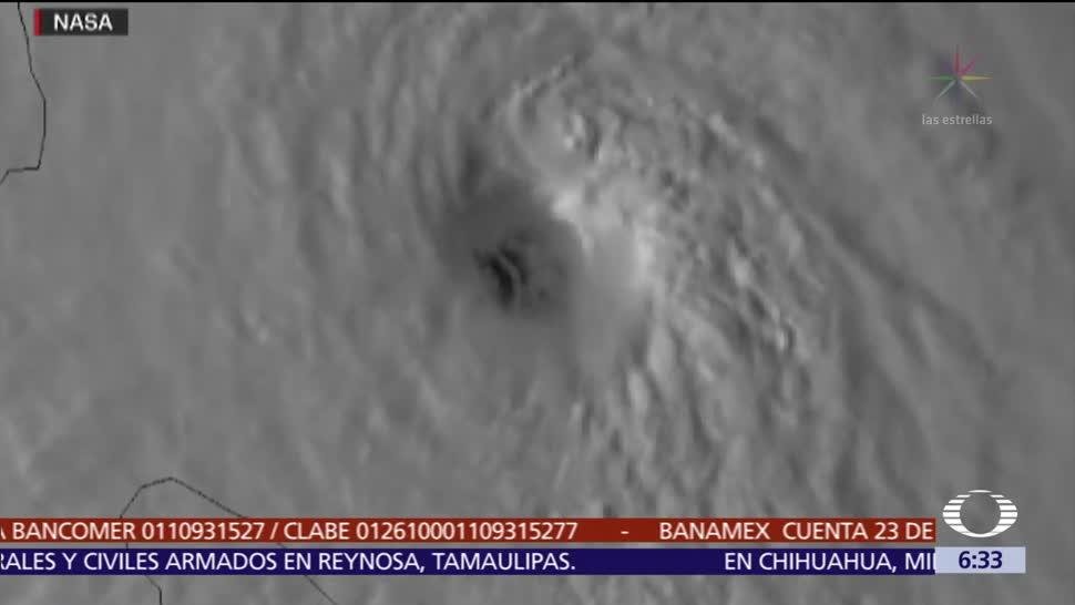 El huracán 'María' azota la isla Dominica como categoría 5