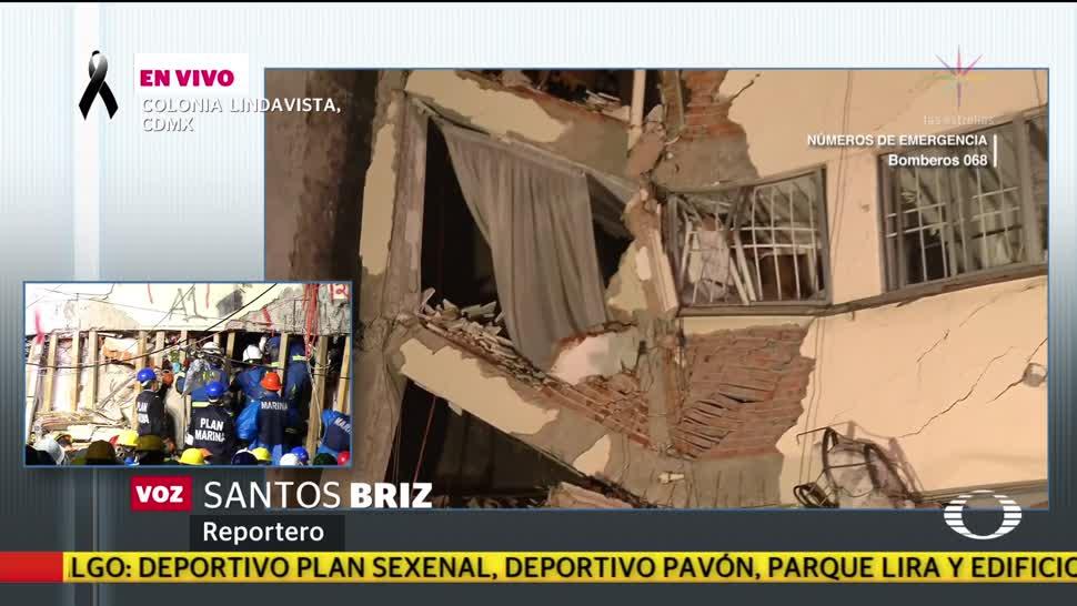 No paran labores de rescate en Lindavista