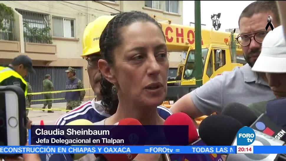 Solicitarán peritaje del Colegio Enrique Rébsamen por colapso