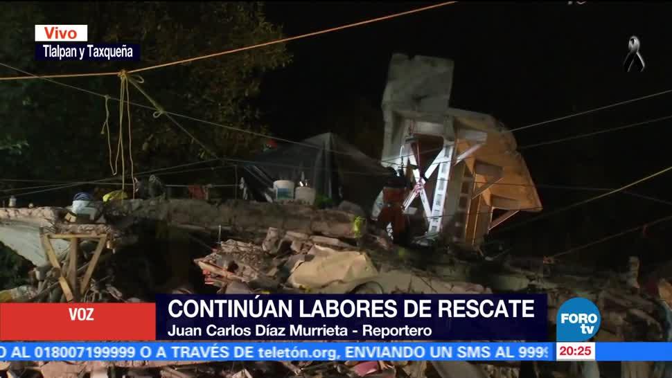 Concluyen rescate de cuerpos en edificio de Lindavista