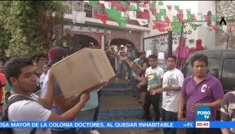 Fundación Televisa envía camión con 10 toneladas de ayuda a Texcala, Morelos