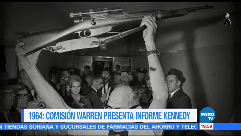 Efeméride En Una Hora: Informe asesinato de Kennedy