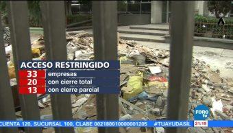 STPS recibe 931 denuncias de daños en centros labores por sismo del 19-S