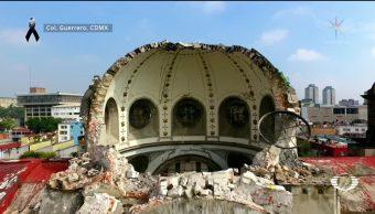 Sismo deja daños en monumentos históricos