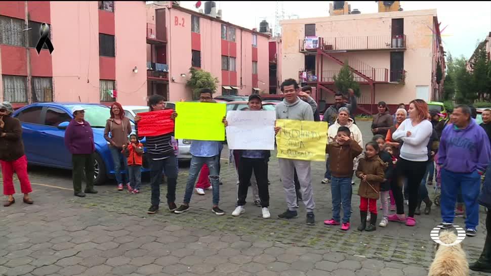 Sigue la crisis por el agua en Tláhuac
