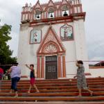 Afectaciones en templo del Señor del Calvario en Chiapa de Corzo, Chiapas