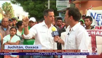 Alejandro Murat Pide Ayuda Oaxaca