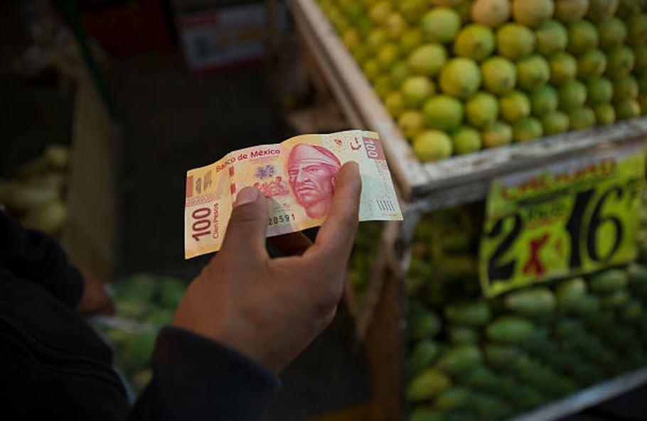 billetes de denominacion de 100 pesos