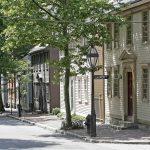 Calles de la ciudad de Provindence, capital de Rhode Island