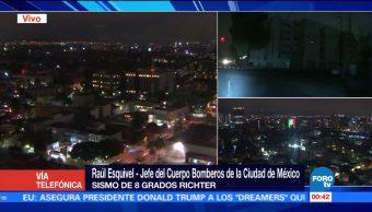 Ciudad de México sin daños por sismo