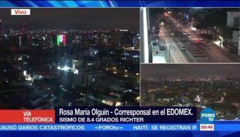 Edomex realiza monitoreo de daños tras sismo