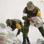 ejercito mexicano entrega ayuda poblacion afectada sismo oaxaca