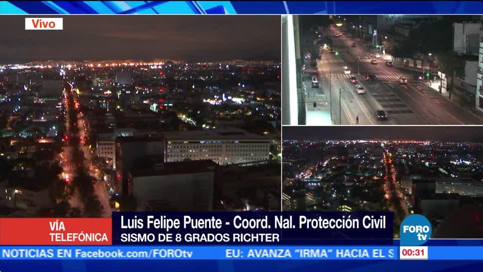 Emiten alerta de tsunami para México tras sismo en CDMX