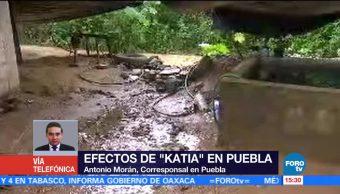 Intensas Lluvias Continúan Afectando Municipios Puebla