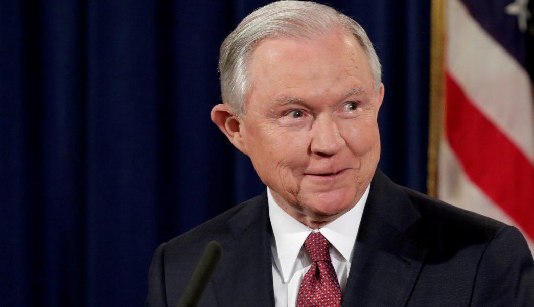 Jeff Sessions, fiscal general de Estados Unidos. (Reuters, archivo)