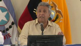Lenín Moreno acusa espionaje expresidente Ecuador Rafael Correa