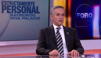 Miguel Ángel Mancera, jefe de Gobierno de la Ciudad de México