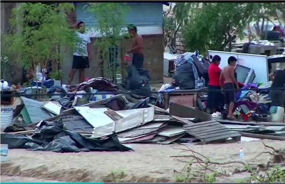miles de personas se quedan sin casa por lidia