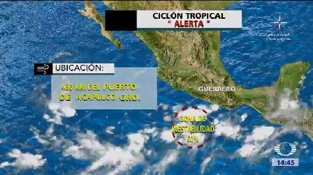 Nuevo Ciclón Podría Afectar Guerrero Puerto De Acapulco