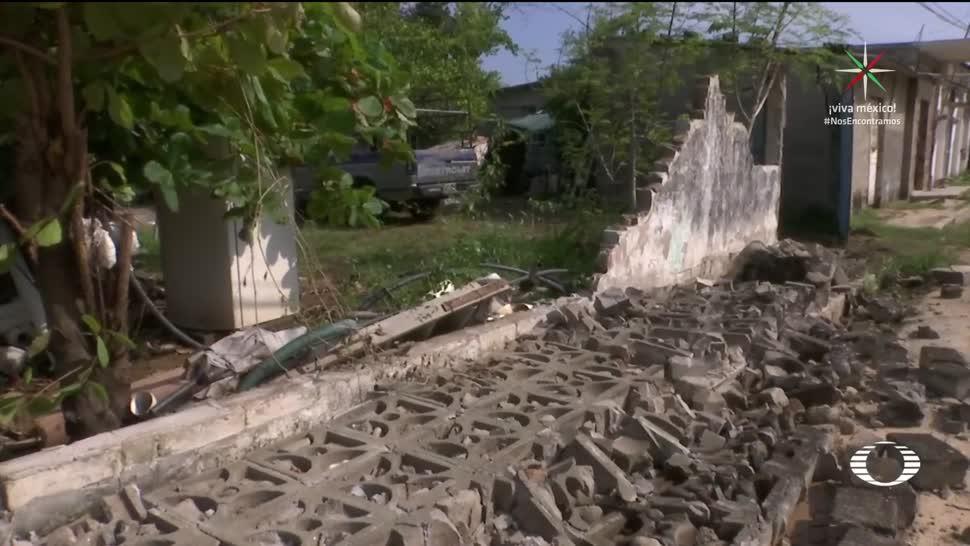 Paredón Chiapas bajo los escombros tras sismo