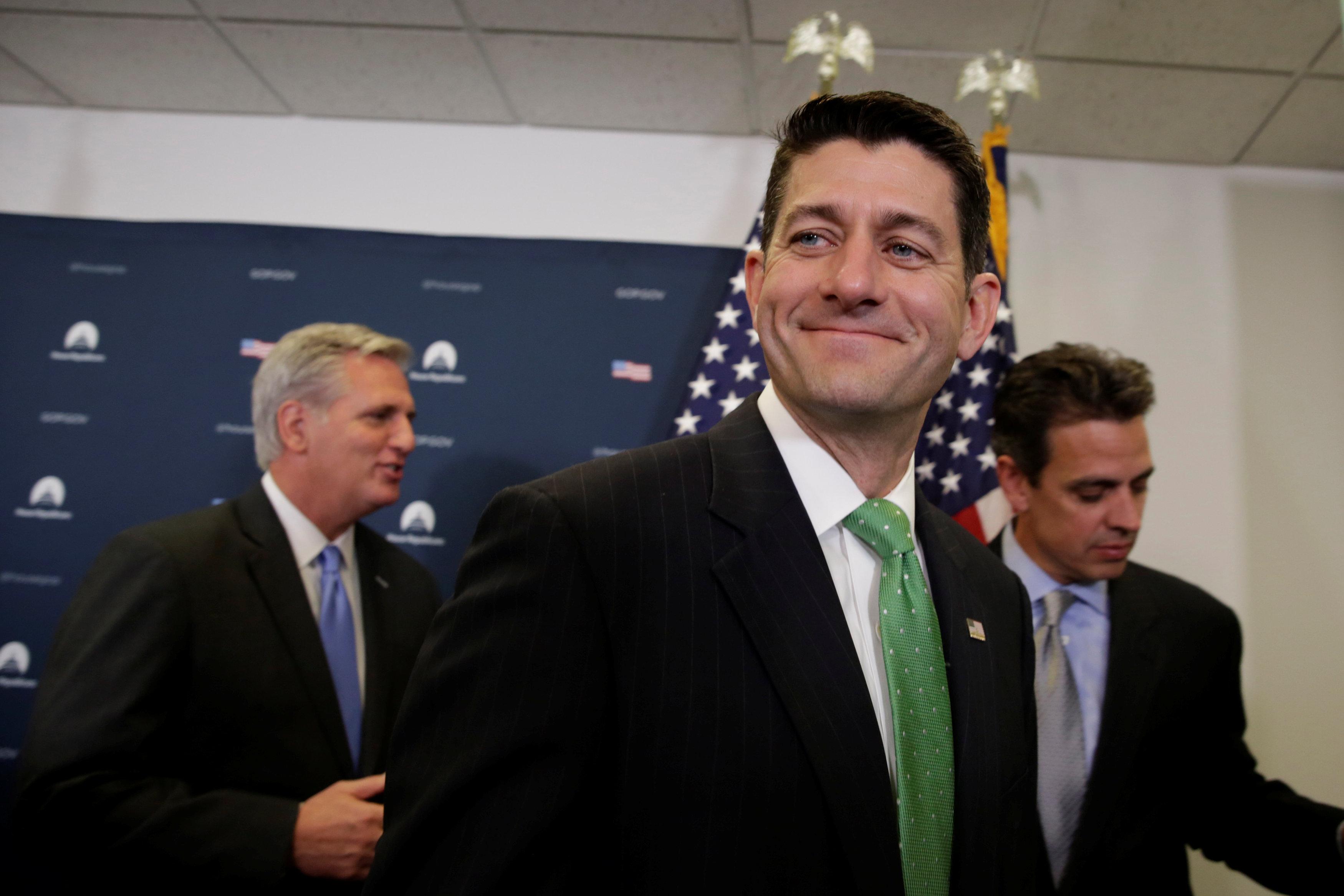 Paul Ryan afirma que mayoría legislativa quiere proteger dreamers