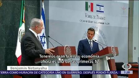 Peña Nieto Recibió Primer Ministro Israel Benjamin Netanyahu
