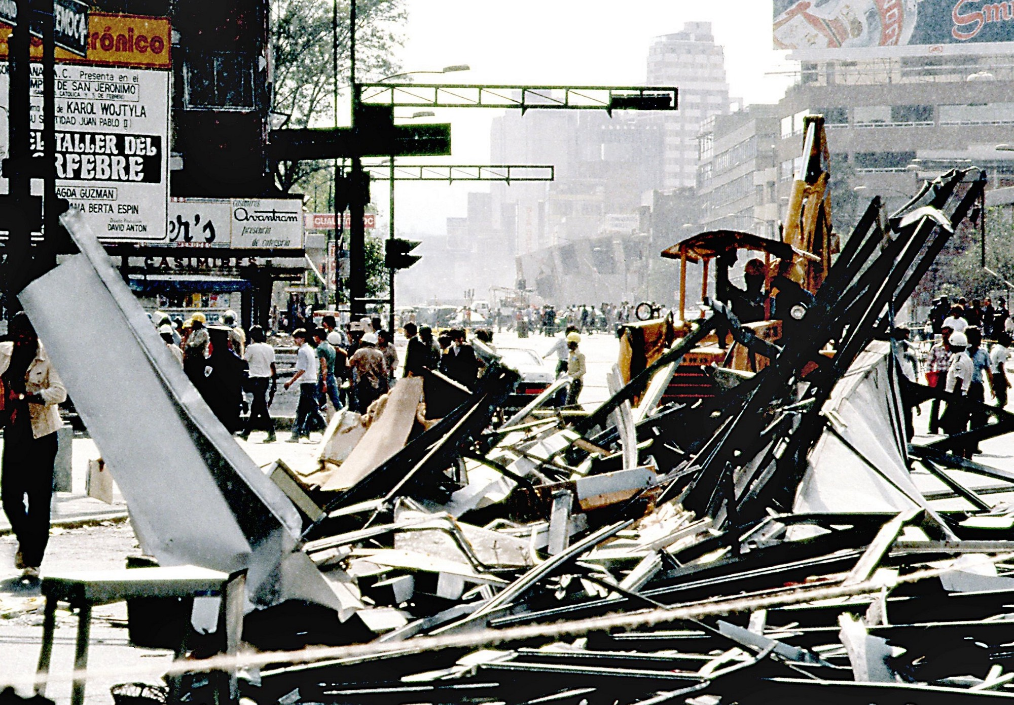 Simulacro 19 de septiembre 2017, Terremoto del 85, Temblor del 85, Sismo del 85