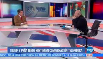 Trump Peña Nieto Sostienen Conversación Telefónica Rafael Cardona Analista Político