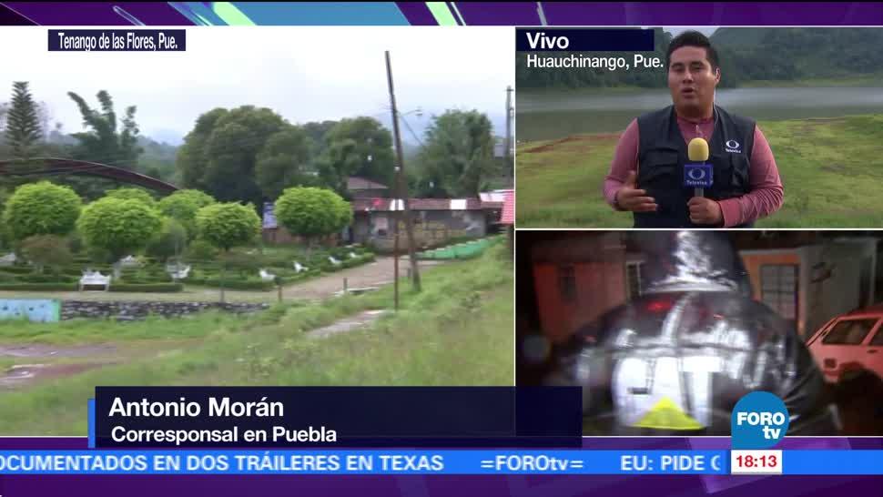 Un total de 105 refugios temporales se habilitaron en Puebla por el paso de 'Katia'