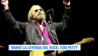 Murió la leyenda del rock, Tom Petty