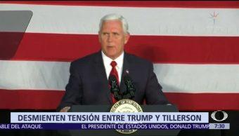 Rex Tillerson niega que intentara renunciar al gabinete de Donald Trump