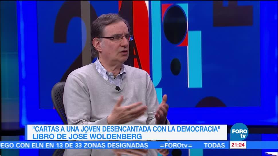 'Cartas a una joven desencantada con la democracia', libro de José Woldenberg