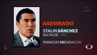 Asesinan a alcalde de Paracho, Michoacán