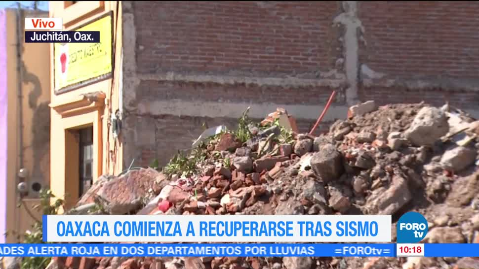 Oaxaca Comienza Recuperarse Sismos Demolición Edificaciones Afectadas