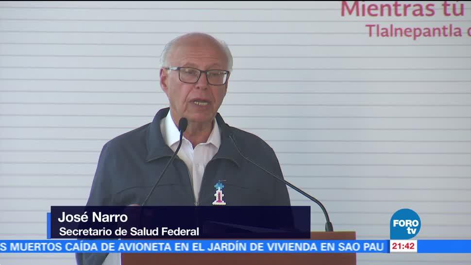 Se aplicarán más de 14 millones de vacunas en México: Narro