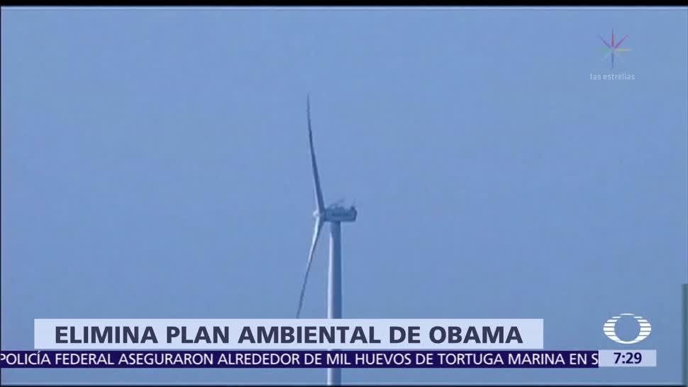 Gobierno de Trump formaliza derogación del Plan de Energía Limpia de Obama