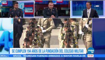 Se cumplen 194 años de la fundación del Heroico Colegio Militar