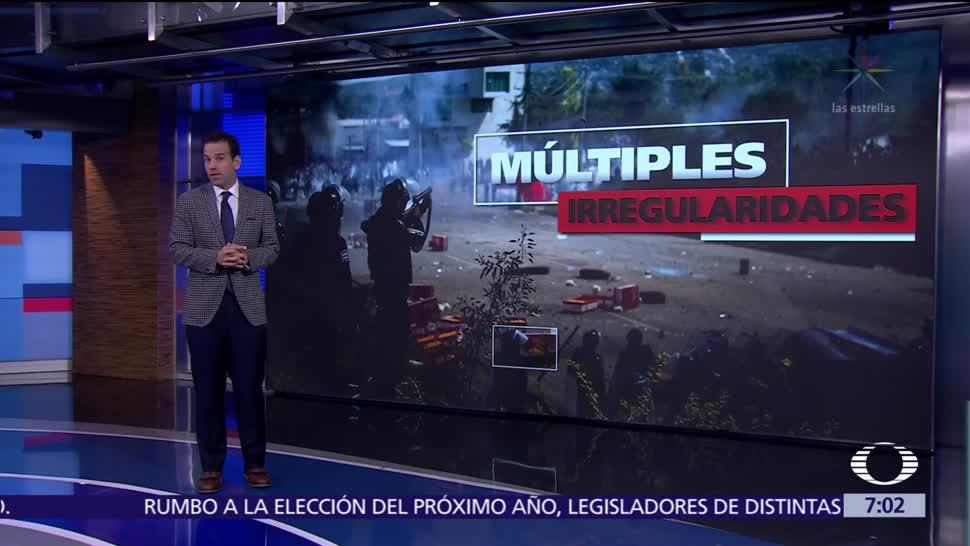 CNDH emite recomendación al Gobierno de Oaxaca por operativo en Nochixtlán