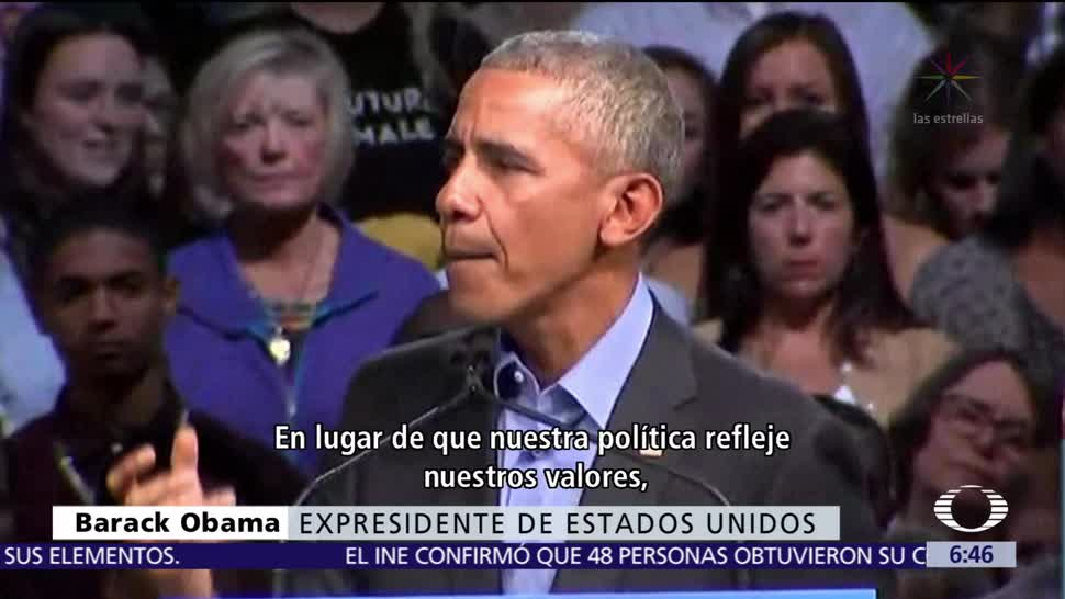 Obama aparece en acto de campaña del candidato a gobernador en Virginia