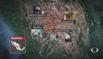 En Zacatecas, firman crímenes con cartas de barajas