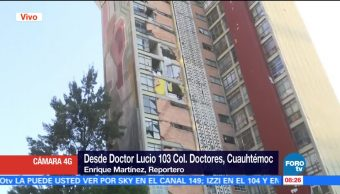 Damnificados en la colonia doctores piden apoyos