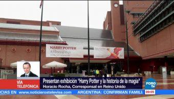 Presentan exhibición de 'Harry Potter y la historia de la magia'